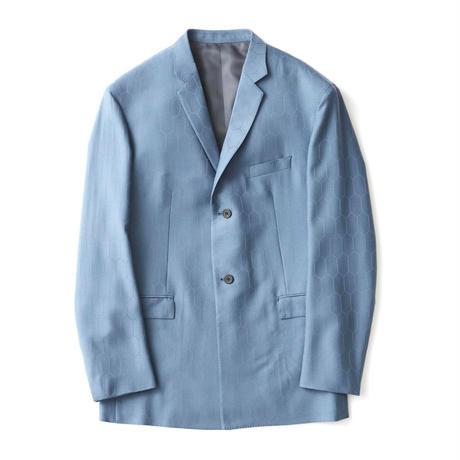 HEXAGON SUIT JACKET / BLUE