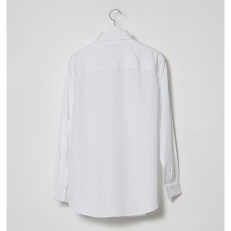 FINX COTTON DRESS SHIRTS / WHITE