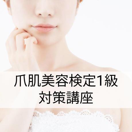 【10/24東京、11/7,8大阪】日本爪肌美容検定 1級試験対策講座