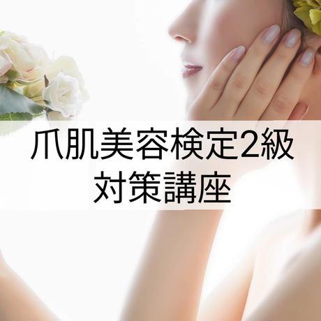 【10/31 東京、11/11大阪】日本爪肌美容検定 2級対策講座
