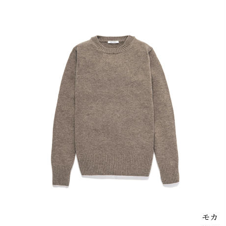 クルーネックセーター