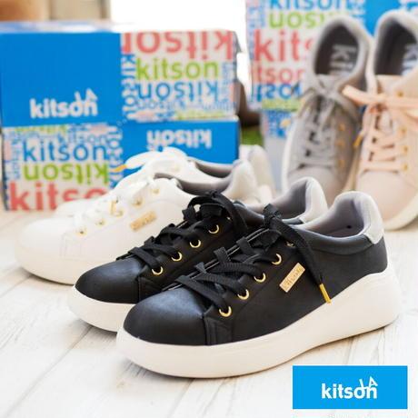 【2021春新作】kitson キットソン ローカットスニーカー 靴 レディース 厚底 フラットソール 撥水加工 軽い