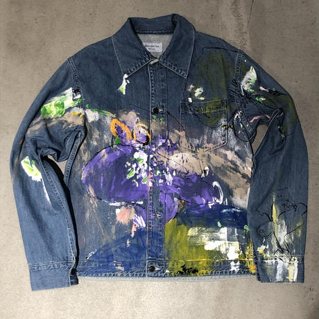 ANTHOLOGIE REPLICA  × RYUSUKE SANO PRISONER JACKET  - INDIGO