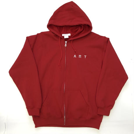 ART  / ZIP UP HOODED SWEATSHIRT / ART-T007