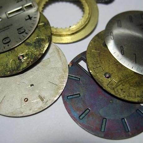 ヴィンテージ時計文字盤パーツ メンズ用時計 a-1408