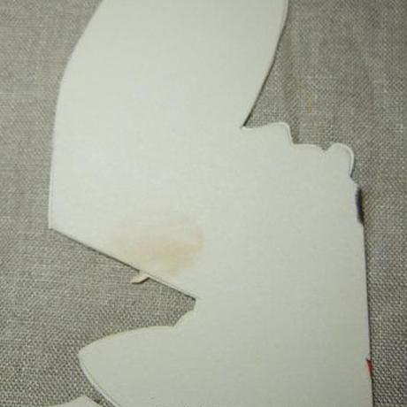 ヴィンテージバレンタインカード 犬のヨットマン c-261