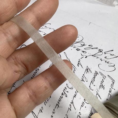 手染めシルクリボン15mセット ヴィンテージ日本製 f-1392