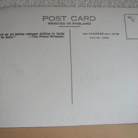 アンティークポストカード ケンブリッジ大学風景 c-53