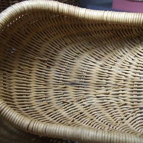 アンティークひょうたん型バスケット w-122