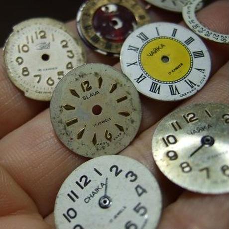 アンティーク婦人用時計文字盤 2コセットa-1356