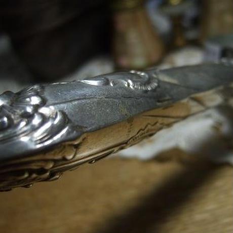 アンティークシルバー虫眼鏡 o-343