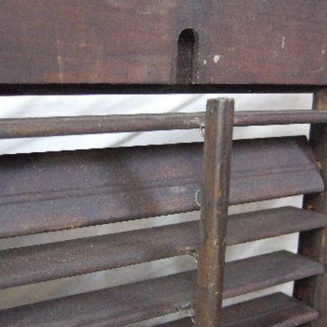 木製ミニルーパー窓3連セット w-112