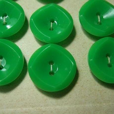 鮮やかグリーンボタン 直径15mm f-793