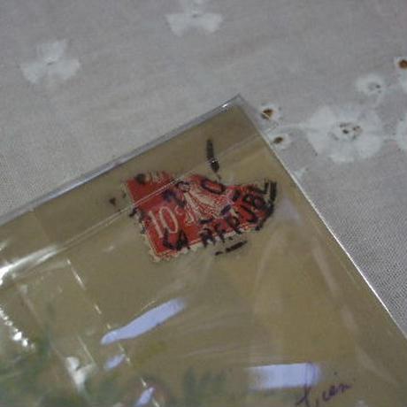 アンティークポストカード セルロイド c-144