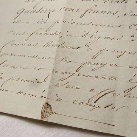 フランス古文書 1888年 c-257