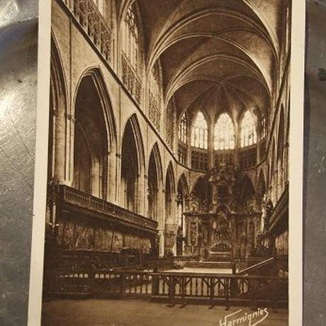 アンティーク教会のポストカード c-25