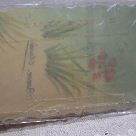 アンティークポストカード セルロイド c-136