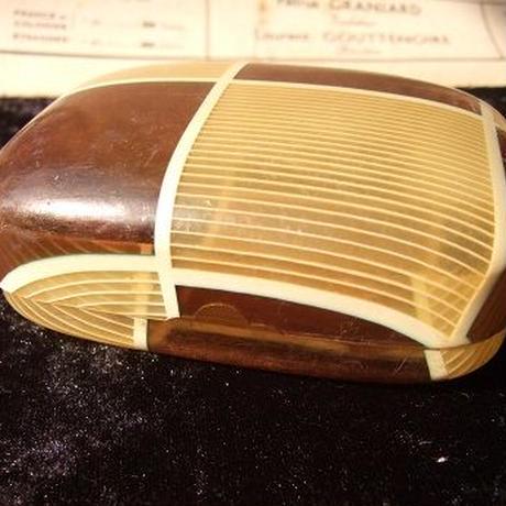 セルロイド製 レトロなソープケース