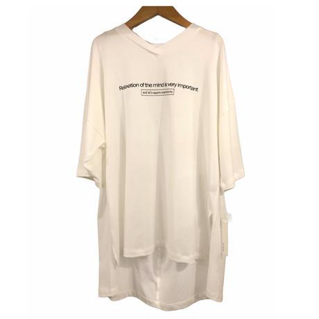 ayan(アヤン)ワッペンTシャツ(WOMENS)
