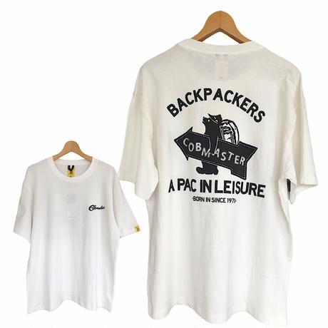 COBMASTER(コブマスター)ベーシックシルエットTシャツ BACK PACKERS(MENS)