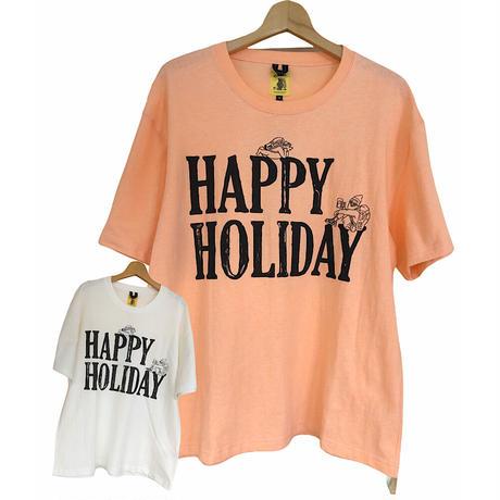 COBMASTER(コブマスター)ベーシックシルエットTシャツ HAPPY HOLIDAY(MENS)