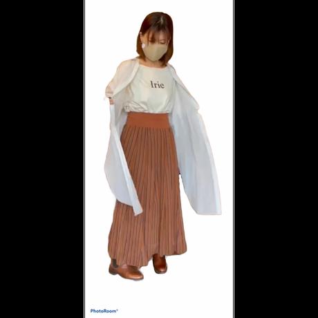 ayan(アヤン)ストライプスカート(WOMENS)