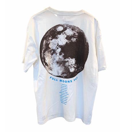 go slow caravan (ゴースローキャラバン)USA/C FULL MOONTシャツ (MENS)