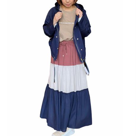 C.C.CROSS(シーシークロス)3段切り替えスカート (WOMENS)