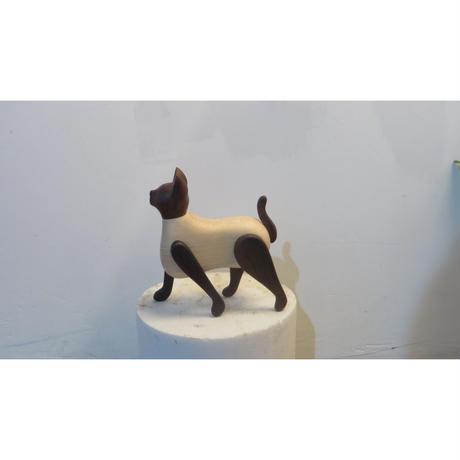 CAT ( M )  wood work crando x AntiqueShow