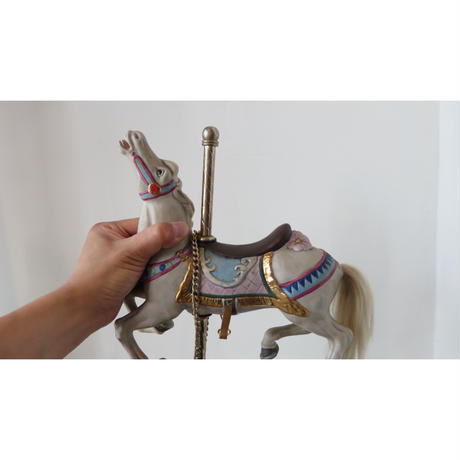 vintage ceramic Merry-go-round (Music box with Joy to the world)