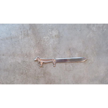 vintage Dachshund  paper knife