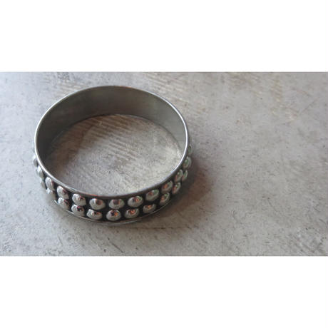 Vintage aluminum bangle