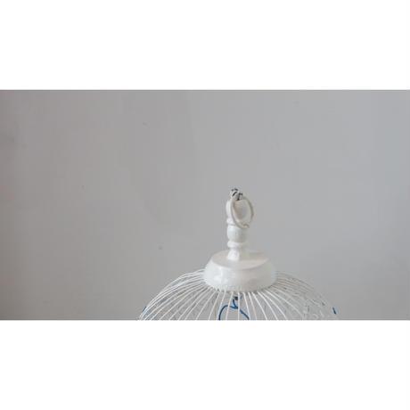 チュニジア鳥かご  ホワイト スモール