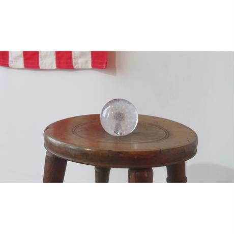Paperweight Hafod Grange / ハフォド・グレンジ ペーパーウエイト Dandelion 綿毛 Sサイズ