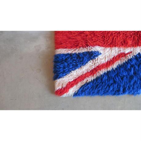 vintage union jack rug