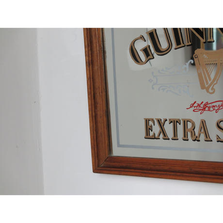 Vintage GUINESS wall mirror