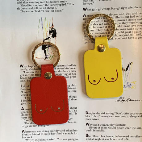 Boobs key holder /  MADE IN BRITAIN