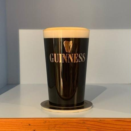 OLD GUINESS BEER GLASS OBJECT