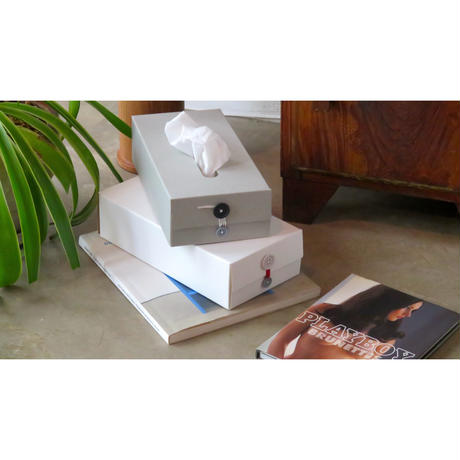 BOTTON TISSUE BOX