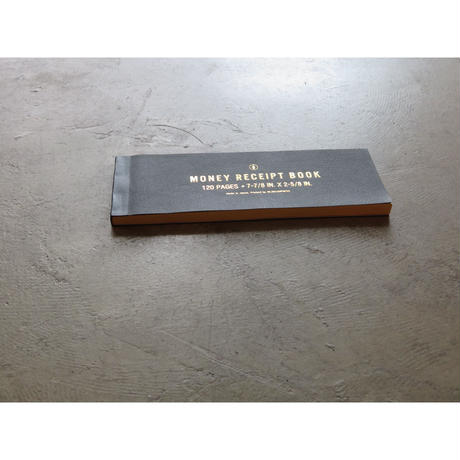 MONEY RECEIPT BOOK  (領収書) made by OLD MAN PRESS