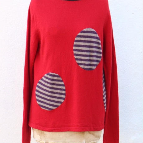 Cashmere  Knit   Re-make  SOLD  OUT