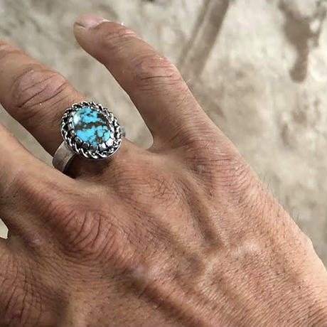 Turquoise Ring  #18.5