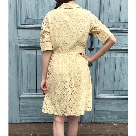 vintage cutting  design one-piece