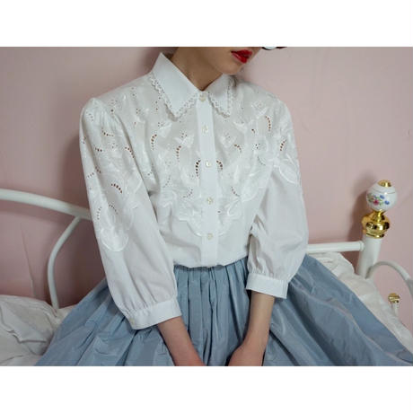 vintage design cotton blouse