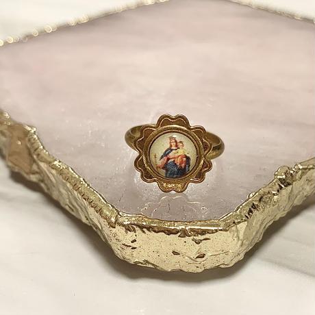 vintage flower ring