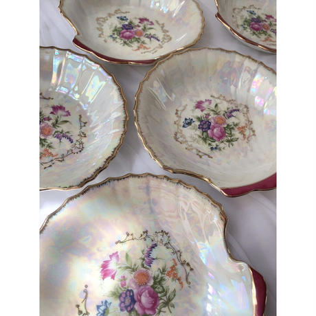 vintage shell plate