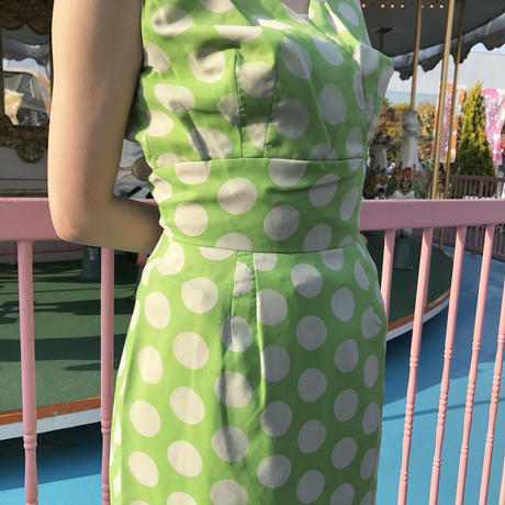 1940's vintage retro dot one-piece