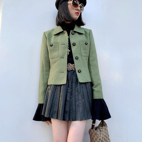 vintage retro short jacket