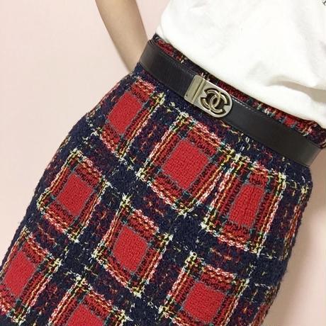 vintage chanel cocomark belt