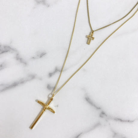 handmade cross set necklace
